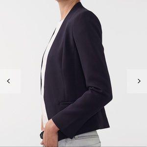 Armani Exchange Jackets & Coats - Armani Exchange Clean Cropped Navy Blazer